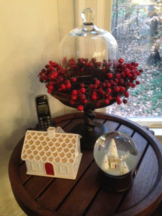 Adding holiday vignettes in a room