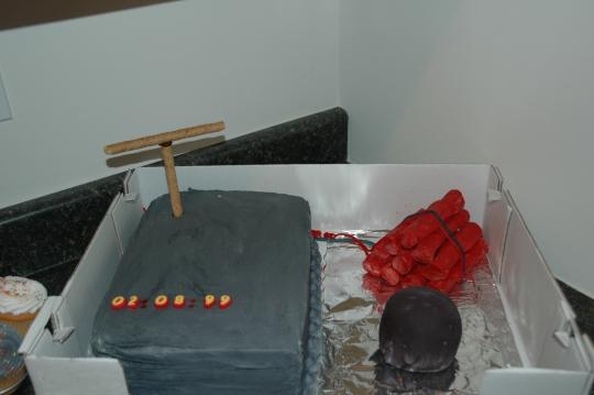 Explosive cakes