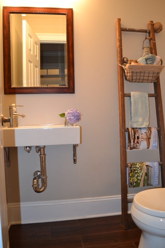 Finished Sink Wall