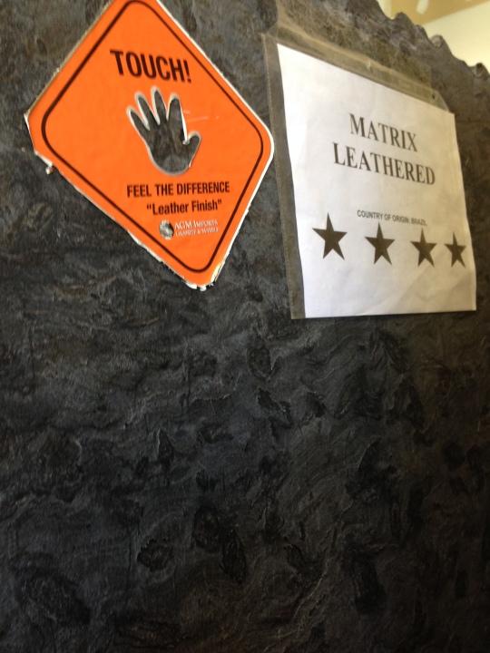 Matrix granite Leather finish